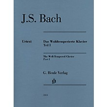 G. Henle Verlag Well-Tempered Clavier BWV 846-869 Part I Henle Music Folios Series Softcover by Johann Sebastian Bach