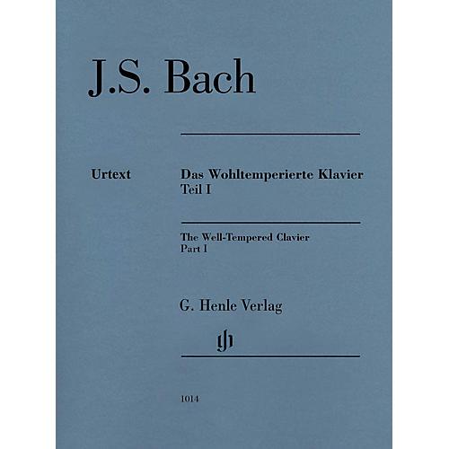 G. Henle Verlag Well-Tempered Clavier BWV 846-869 Part I Henle Music Folios Series Softcover by Johann Sebastian Bach