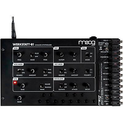 Moog Werkstatt-01 Analog Synth Kit and CV Expander