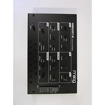 Moog Werkstatt-01 And CV Expander Synthesizer