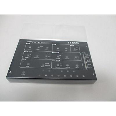 Moog Werkstatt 01 And Cv Expander Synthesizer