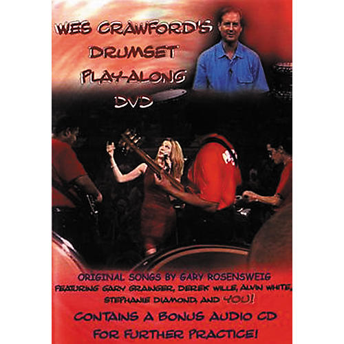 Music and Games 4U Wes Crawford's Drumset Play-Along (DVD/CD)