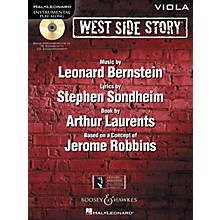 Hal Leonard West Side Story for Viola Instrumental Play-Along Series Softcover with CD