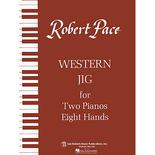 Lee Roberts Western Jig - Brown (Book V) Pace Piano Education Series Composed by Robert Pace