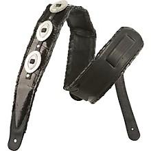 Jodi Head Western Snakeskin Concho Guitar Strap