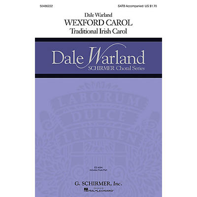 G. Schirmer Wexford Carol (Dale Warland Choral Series) SATB arranged by Dale Warland