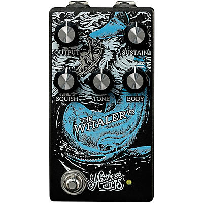 Matthews Effects Whaler V2 Original Fuzz Effects Pedal