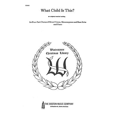 Boston Music What Child Is This? SATB