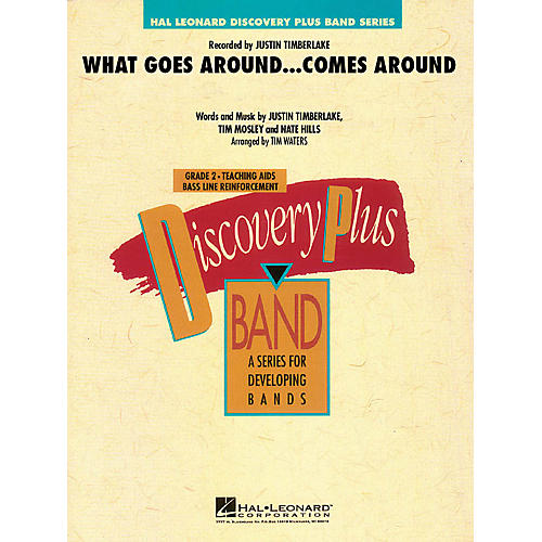 Hal Leonard What Goes Around...Comes Around - Discovery Plus Band Level 2 arranged by Tim Waters