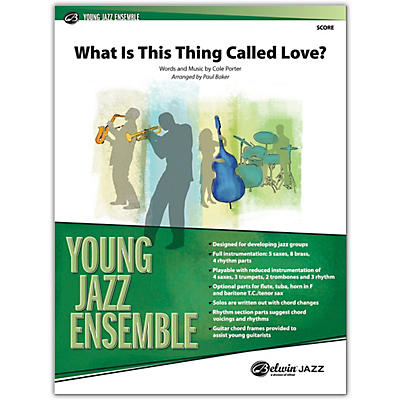 BELWIN What Is This Thing Called Love? Conductor Score 2.5 (Medium Easy)