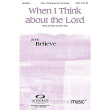 Integrity Music When I Think About the Lord Orchestra Composed by James Huey