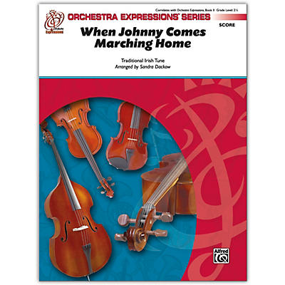 Alfred When Johnny Comes Marching Home Conductor Score 2.5