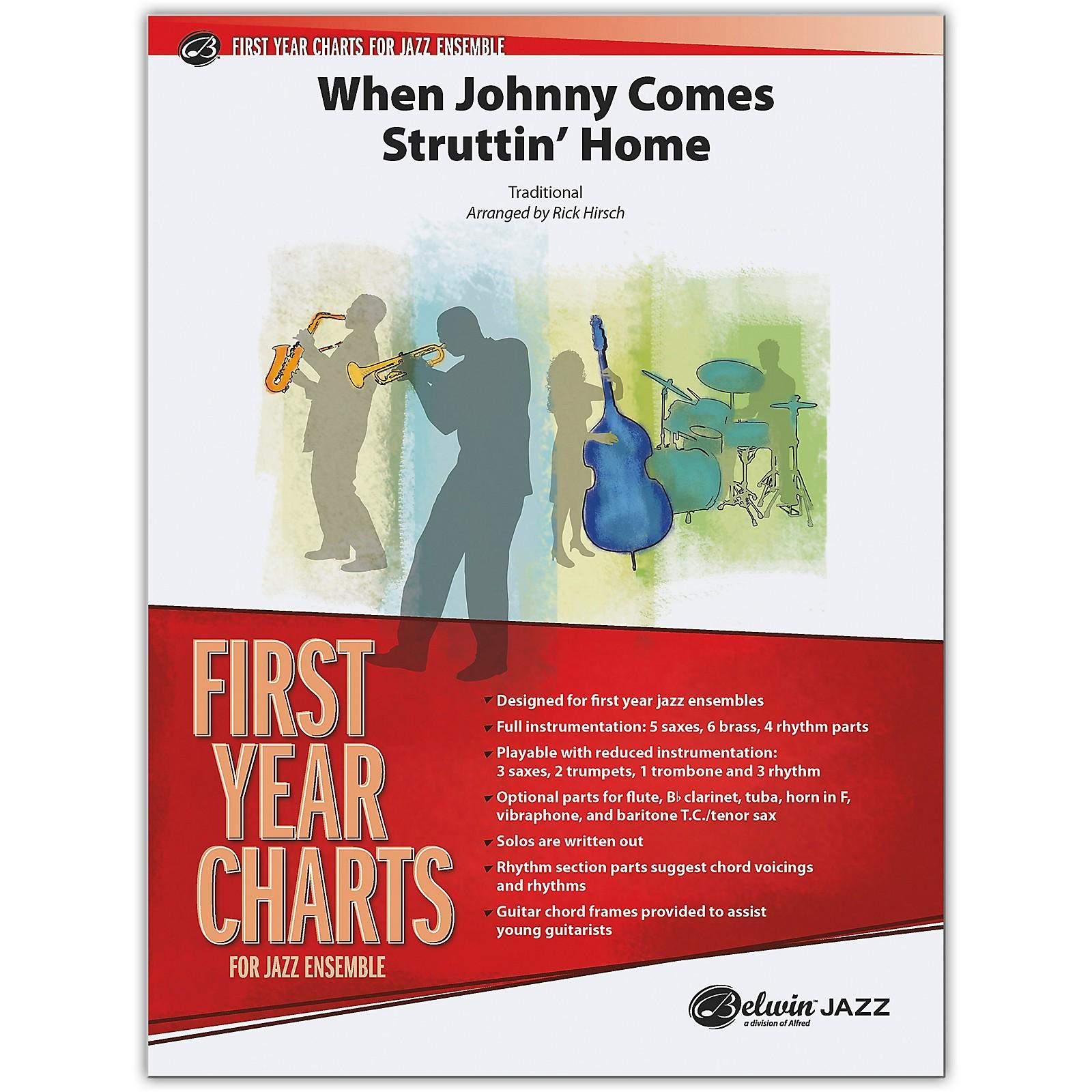 BELWIN When Johnny Comes Struttin' Home Conductor Score 1 (Easy)