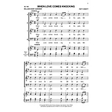 Hal Leonard When Love Comes Knocking (Choral Music/Octavo Secular Satb) SATB Composed by Dewitt, Patti