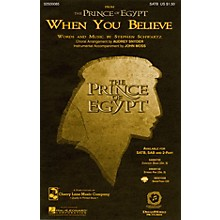 Cherry Lane When You Believe (from The Prince of Egypt) SATB arranged by Audrey Snyder