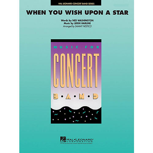 Hal Leonard When You Wish Upon a Star Concert Band Level 4 Arranged by Sammy Nestico