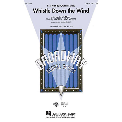 Hal Leonard Whistle Down the Wind SATB arranged by John Leavitt