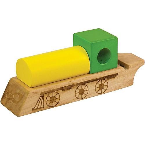 Green Tones Whistle Train
