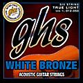 GHS White Bronze True Light Acoustic-Electric Guitar Strings thumbnail