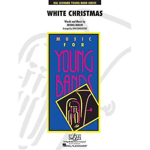 Hal Leonard White Christmas - Young Concert Band Level 3 by John Edmondson