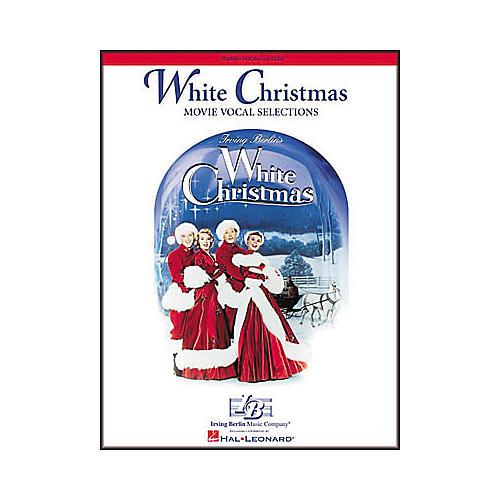 Hal Leonard White Christmas Piano/Vocal/Guitar Songbook