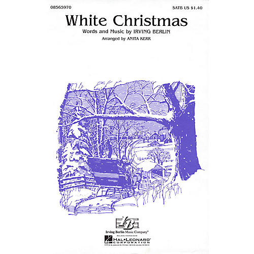 Hal Leonard White Christmas (SATB) SATB Arranged by Hector MacCarthy
