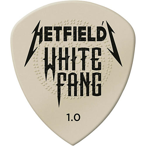 Dunlop White Fang James Hetfield Signature Picks 1.0 mm 24 Pack