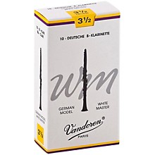 White Master Bb Clarinet Reeds Strength 3.5, Box of 10