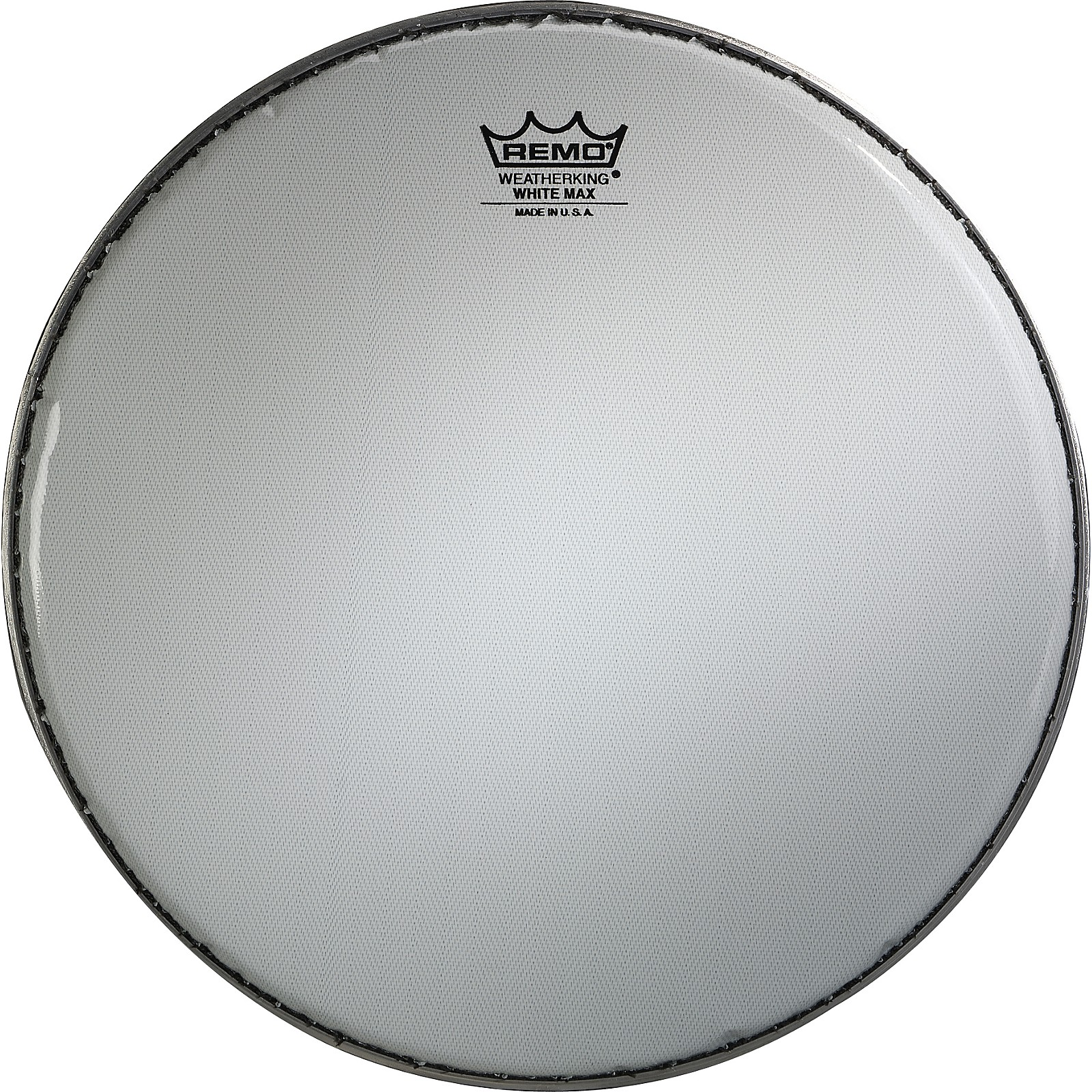 """Remo 14/"""" Drum Head White Max Crimped Smooth White Marching Snare Drum Head"""