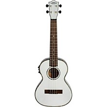 Lanikai White Pearl Painted Tenor Ukulele