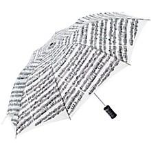 AIM White Sheet Music Umbrella