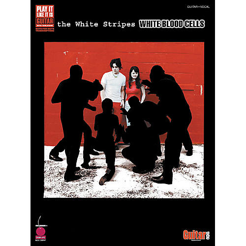 Cherry Lane White Stripes White Blood Cells Guitar Tab Songbook