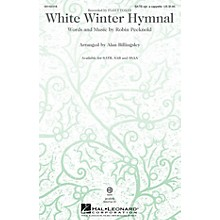 Hal Leonard White Winter Hymnal ShowTrax CD by Fleet Foxes Arranged by Alan Billingsley
