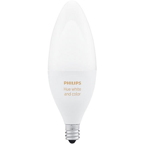 Philips Hue White and Color Ambiance Single Bulb E12