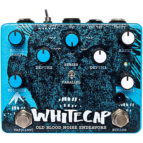Old Blood Noise Endeavors Whitecap Dual Tremolo Effects Pedal