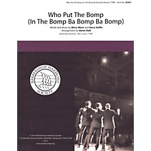 Barbershop Harmony Society Who Put The Bomp (In The Bomp Ba Bomp Ba Bomp) TTBB A Cappella arranged by Aaron Dale
