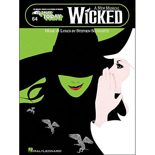 Hal Leonard Wicked A New Musical E-Z Play 64