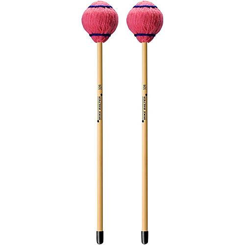 Mike Balter Wide Bar Series Medium Pink Yarn Rattan Handle Vibraphone Mallets