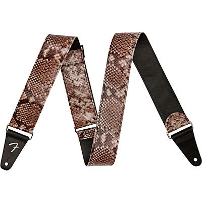 Fender Wild Faux Leather Guitar Strap
