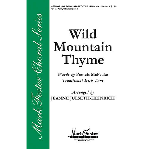 Shawnee Press Wild Mountain Thyme 2-Part arranged by Jeanne Julseth-Heinrich