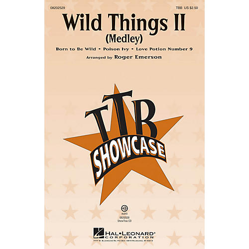 Hal Leonard Wild Things II (Medley) TBB arranged by Roger Emerson