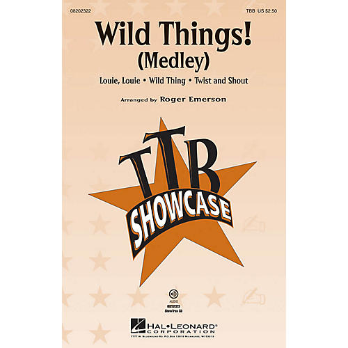 Hal Leonard Wild Things! (Medley) ShowTrax CD Arranged by Roger Emerson