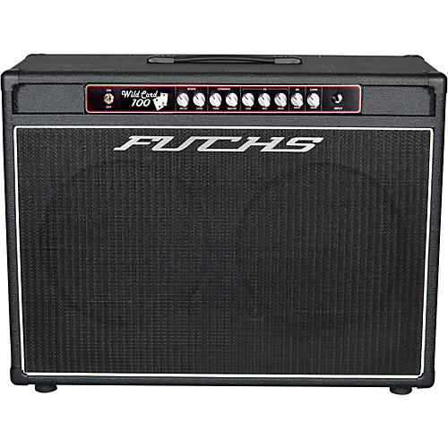 Fuchs Wildcard 2x12 100W Tube Guitar Combo Amp and 4-Button Artist Footswitch Kit