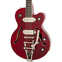 Open BoxEpiphone Wildkat Semi-Hollowbody Electric Guitar with Bigsby