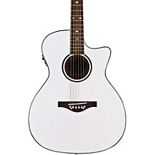 Wildwood Acoustic-Electric Guitar Pearl White