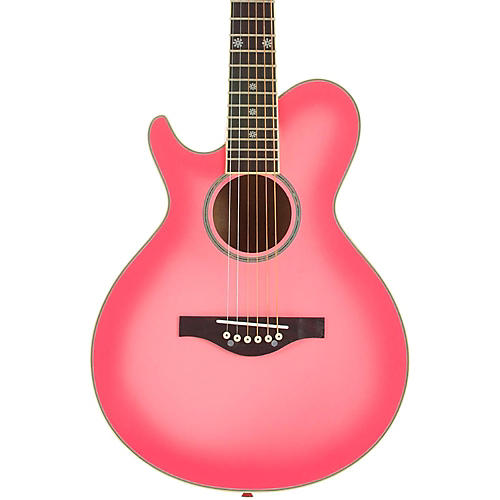 Daisy Rock Wildwood Short Scale Left Handed Acoustic Guitar