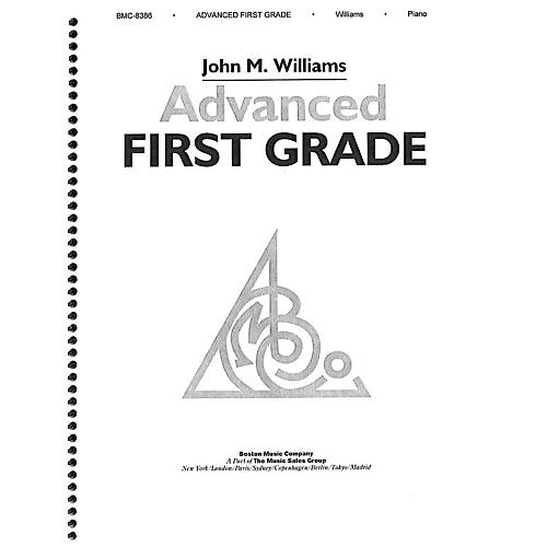 Music Sales Williams Advanced First Grade Piano Music Sales America Series