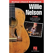 Hal Leonard Willie Nelson - Guitar Chord Songbook Guitar Chord Songbook Series Softcover Performed by Willie Nelson