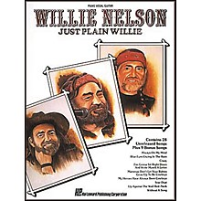 Hal Leonard Willie Nelson - Just Plain Willie Piano, Vocal, Guitar Songbook