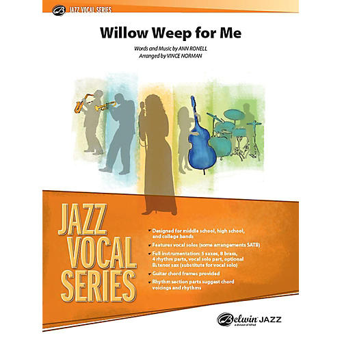 Alfred Willow Weep for Me Jazz Band Grade 3 Set
